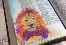 Art journal and Canvas Ideas / by Ruth Basinger Sumner