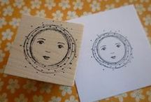 RubberMoon aRt STaMpS / rubbermoon stamps and art made with them / by Kristen Powers