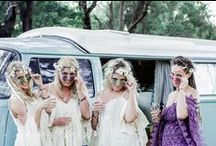 Wedding Of Shannon & Adam / Cape Of Love supplied vintage crockery,glassware,bunting & seating for Shannon & Adams Hippie Wedding. Sarastorm Photography captured their fun,upbeat wedding.