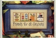 Friendship Cross Stitching / Friendship themed cross stitch / by Stitch and Frog Cross Stitch
