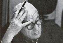 """Le Corbusier / Featuring ACME Studio's June Pen of the Month -- """"Le Modulor,"""" designed by Le Corbusier.  http://www.acmestudio.com/"""