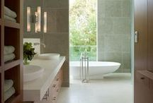 bathrooms. / Interior design, bathrooms, high end