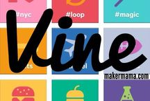 Vine Tips & Tricks / Great articles and infographics containing tips and how to's regarding Vine videos.
