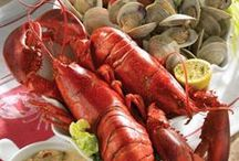 I Love Seafood / fish, salmon, crab, lobster, oysters, shrimp, clams, scallops...