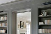 built-ins. / Interior design, details, architecture, dream home