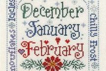Winter Cross Stitch / by Stitch and Frog Cross Stitch