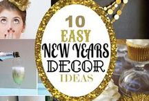 New Year's Eve / new years eve, crafts, food, drink and decorations