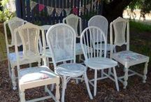 Vintage Furniture / Recycled Furniture Hire for Weddings & Events