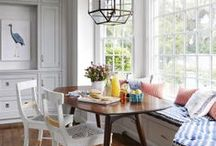 breakfast nooks. / interior design, residential, home decor / by whitney emiko