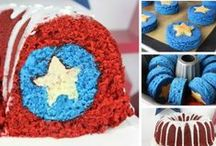 Marvel-Inspired DIY + Recipes / From the comic books to the films, #Marvel is the inspiration behind these crafty fans' recipes, DIY projects and more! Share your own creations with the hashtag #MarvelDIY.