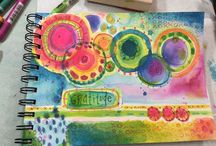 jOuRNaL iNsPiRaTioN / art journal coolness / by Kristen Powers