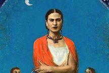 ViVa La FriDa / frida kahlo inspired