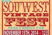 Sou West Vintage Fest 2014 / Cowgals & Cowboys looking mighty fine at Clancys Fish Pub,Dunsborough