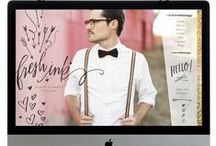 Web Design / All the beautiful web design inspiration out there!