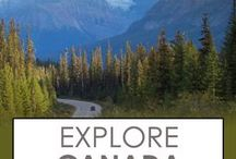 Explore Canada / Explore Canada through its National Parks, cities, and its remote wilderness.