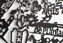 Paper Cuts by Famille Summerbelle / Paper cut art
