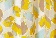 fabrics & patterns.