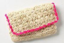 Crochet - Bags, Purse & Basket / by Lihie Katziry