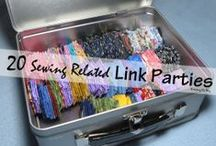 Sewing Link Parties / Looking for places to show off your latest makes... links to Sewing Link Parties where you can add your latest sewing projects / by Pam ~ Threading My Way