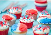 Patriotic Partytime / Memorial Day Ideas, Flag Day Ideas, 4th of July Ideas