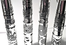 Engraved Elegance  / These are clearly the most artistic e-cigs ever produced! There is the Chinese Dragon, Concentric Circles, Hearts, and Egyptian themed e-cig. That's right, it is etched, not printed, not painted, not some gunky piece of glued on stuff. You can FEEL the quality of the engraving work. As an artist, I am truly impressed with this design, as it is beautiful as well as durable. This is an ego-style battery.