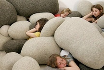 Kids home style: pillows & bean bags / by Mammabook