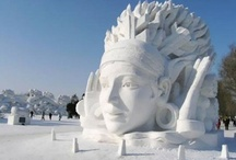Snow & Ice Art / by Linda Sajan