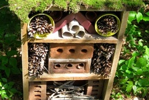 Bug Hotel Art for the garden / by Janice Weinhold