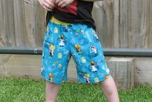 Sewing For Boys / A collection of free tutorials ~ pattern reviews ~ ideas and inspiration for boys' clothing / by Pam ~ Threading My Way