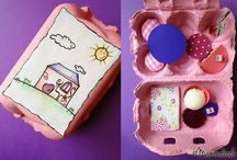 about... Egg carton / by Mammabook