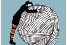 Yarn, yarn & more yarn / by Rachel Baay
