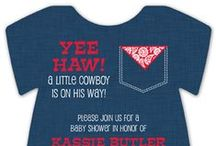 Western Baby Shower / by Polka Dot Design