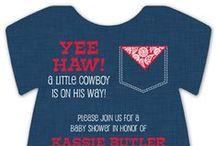 Western Baby Shower / by Polka Dot Design