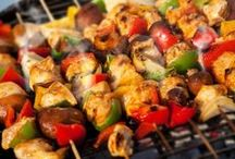 Brilliant BBQs / Recipes and ideas for a summer barbie that's a sizzling success!