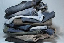 Denim Jeans Refashioning / Ideas and inspiration for repurposing, refashioning, reusing and upcycling denim jeans...
