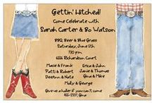 Western Invitations / Western Party Invitations