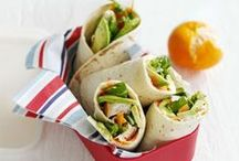 Wrap and roll / Tired of boring sarnies? Need some inspiration? We've got great ideas to shake up summer lunches