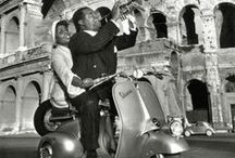 Celebrities with Vespa
