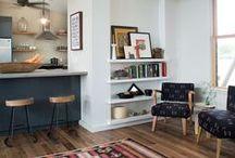 Creative Spaces / Living room, bedroom, kitchen, workspace, bathroom inspiration