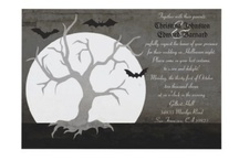 Halloween Wedding Invitations  / by Jennifer (DesignsByNyxxie)