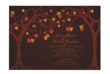 Autumn Wedding Invitations  / by Jennifer (DesignsByNyxxie)