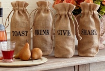 burlap bag ideas