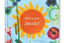 Who Loves Me? / Lyrical rhymes feature the names of those who love the child.  Available at http://www.iseeme.com/.
