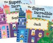 Super, Incredible Big Sisters and Brothers! / Make a new big sister or brother feel special with this book & award medal! Available at http://www.iseeme.com/.