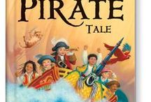 My Very Own Pirate Tale / Sea creatures bring letters one by one to spell out your child's first and last name in rhyme. At the end of this adventurous story, your little buccaneer is named an honorary captain with a ship of his or her own!   Available at http://www.iseeme.com/.