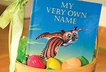 EASTER! / This Easter, put a book in your basket!  / by I See Me! Personalized Children's Books