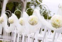 White/Ivory Wedding Theme Inspiration