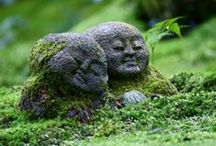 "Home Decoration & Garden Statues (group board) / ""Feng Shui"", The Art of Placement.  Zen Gardens.  Works of Art for the Home & Garden.   (brought to you by BazaarsRUs.com Garden & Home Decor)"