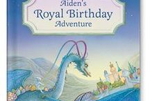 Royal Birthdays for Boys! / Throw a Royal Birthday Party for the little prince in your life! Your child is taken on a royal birthday adventure where he is celebrated as the birthday prince.  Available at http://www.iseeme.com/.