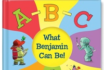 When I Grow Up, I Want To Be... / 'ABC What I Can Be!'  In this whimsical book, your child will explore different careers while learning the alphabet from A to Z.  Available at http://www.iseeme.com/. / by I See Me! Personalized Children's Books